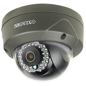 Inkovideo 4MP PoE Domekamera V-110HD, schwarz INKOVIDEO V-111-4M BLACK