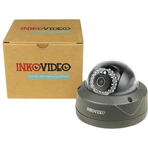 Inkovideo 3MP PoE dome camera V-110HD INKOVIDEO V-111-4M BLACK