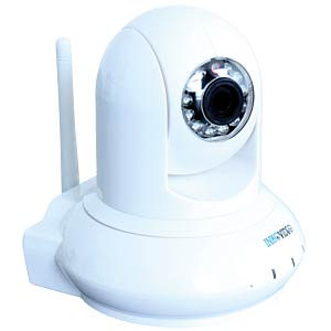 Inkovideo  2MP WLAN ONVIF Kamera INKOVIDEO V-120HD WEISS
