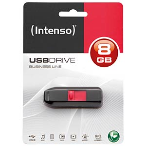 USB2.0-Stick 8GB Intenso Business Line INTENSO 3511460
