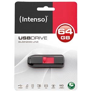 USB2.0-Stick 64GB Intenso Business Line INTENSO 3511490