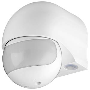 IR motion detector, surface-mounted, slim GOOBAY 95174