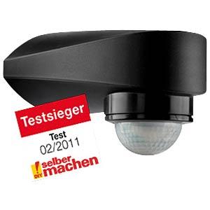 Infrarot-Bewegungsschalter, 180°/360°, schwarz GEV 018402
