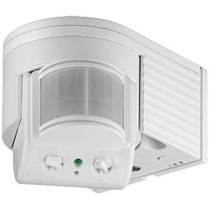 IR motion detector, surface-mounted, outdoors GOOBAY 95175