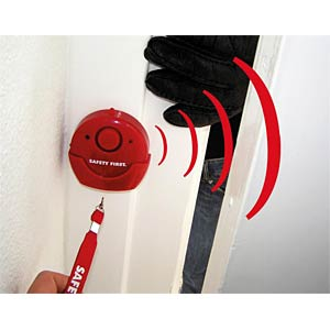 Haus-Notfallalarm Safety First inkl. LED KH SECURITY 100109