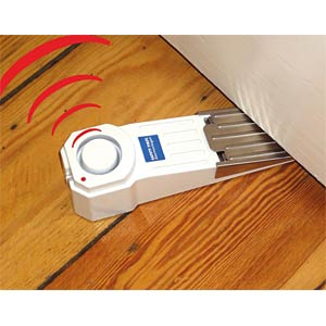 Alarm door stopper, door wedge, white KH SECURITY 100185