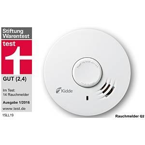 Kidde smoke detector, Q label KIDDE Q2