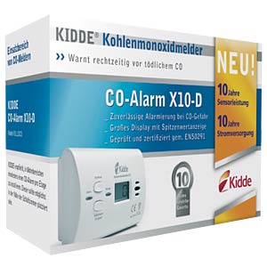 Kohlenmonoxid-Melder mit Display KIDDE X10-D