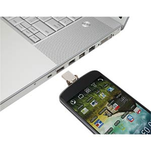 64 GB - USB 2.0 - DataTraveler microDuo KINGSTON DTDUO/64GB