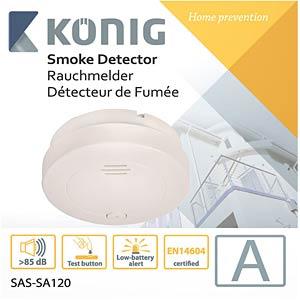 Rauchmelder KÖNIG SAS-SA120