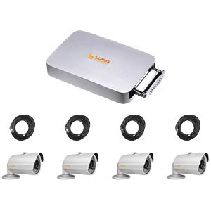 LE800 HD - Nano 4 C HDTV Set inkl. 4 Kameras LUPUS 13101