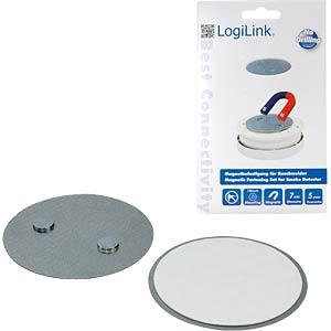 Magnetic fastening set for smoke detectors LOGILINK SC0005