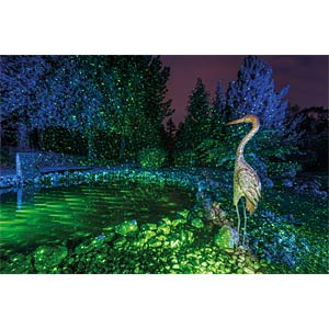 Luxula Green laser for outdoor use LUXULA