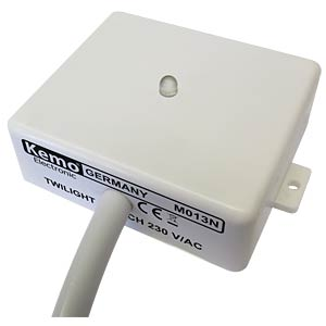 Twilight switch 240 V/AC KEMO M013N