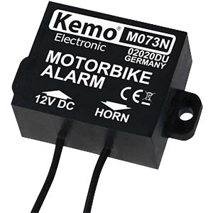 Motorrad-Alarm KEMO M073N