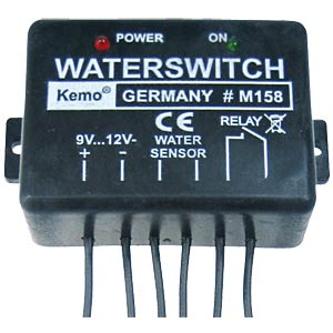 Wassermelder 9 - 12 V/DC KEMO M158