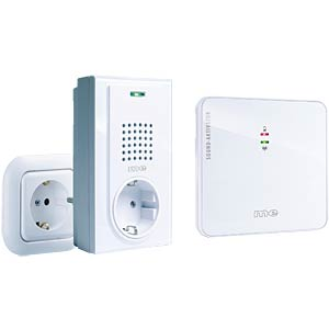 Wireless doorbell with sound-activated transmitter M-E 41017