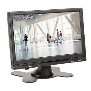 Überwachungs-Monitor, 7 (18 cm), TFT - EEK A VELLEMAN MON7T1