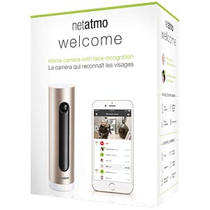 Netatmo Welcome SmartHome-Kamera NETATMO NSC01-EU