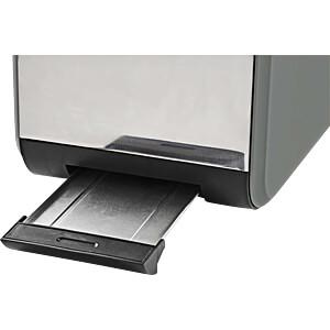 Toaster, 2 breite Öffnung, Soft-Touch, grau NEDIS KABT510EGY