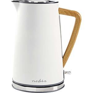 Wasserkocher 1,7 l, Soft-Touch, weiß NEDIS KAWK510EWT