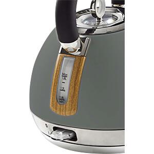 Wasserkocher 1,8 l, Soft-Touch, grau NEDIS KAWK520EGY