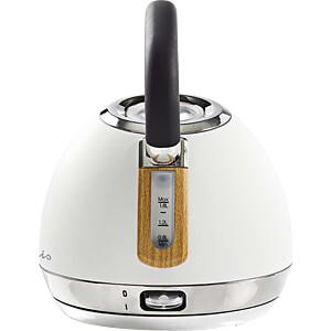 Wasserkocher 1,8 l, Soft-Touch, weiß NEDIS KAWK520EWT