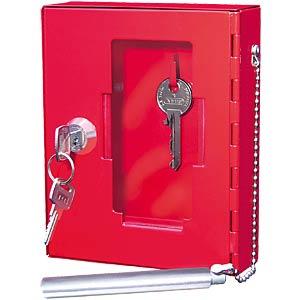 Emergency key cabinet pane FREI