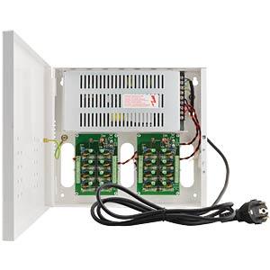 Mehrfachnetzteil mit 16 Status-LED, 12V FREI PNT 16
