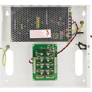 Multiple power supply with 8 LEDs, 12V FREI PNT 8