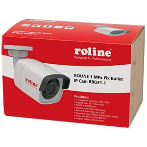 4 MPx Fix Bullet IP Camera, RBOF4-1 ROLINE RBOF4-1