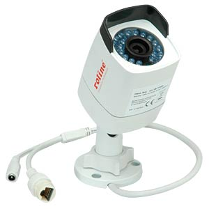 4 MPx fixed bullet IP camera, RBOF4-1 ROLINE RBOF4-1