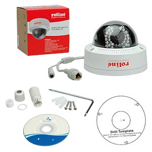 2MPx Fixed Dome IP Cam RDOF2-1W ROLINE 21197307