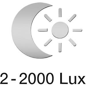 Sensorlampe RS 16L von STEINEL, weiß, EEK A++ - E STEINEL RS16L