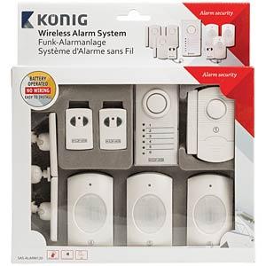 Wireless alarm system KÖNIG SAS-ALARM120