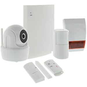 Smart-Home-Security-Set mit Video-Überwachung KÖNIG SAS-CLALARM10