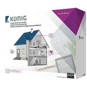 Smart home security set KÖNIG SAS-CLALARM10
