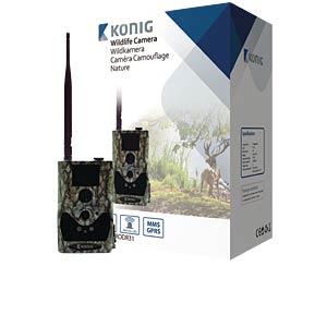 Wildkamera mit GPRS-/MMS-Funktion KÖNIG SAS-DVRODR31