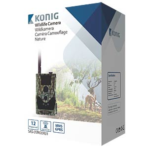 Wildlife camera with GPRS/MMS function KÖNIG SAS-DVRODR31