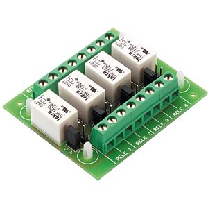 12-V relay contact module MONACOR SC-35