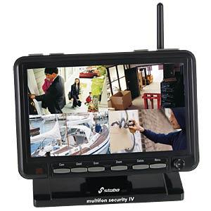 Überwachungskamera, Funk, Set inkl. Kamera, außen STABO 51086