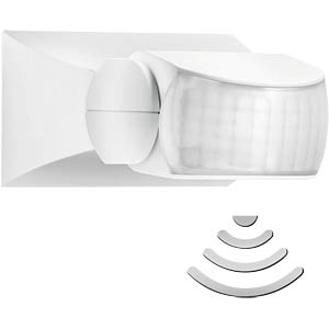 STEINEL IS 1 infrared motion detector, white STEINEL 600310