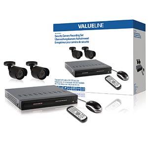 Netzwerk-Videorekorder, Set inkl. 2 Kameras VALUELINE SVL-SETDVR30