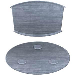 Rauchmelder Montageset Ø 7cm , magnetisch SMARTWARES RMAG4