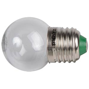 LED round bulb B40, 1 W warm white, indoor, EEA A++ SYNERGY 21 98871