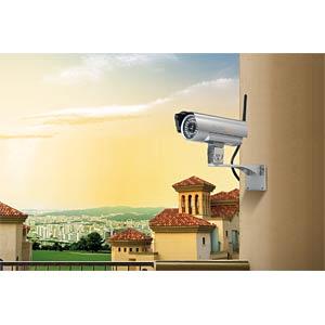 Überwachungskamera, IP, LAN, WLAN, außen TECHNAXX 4319