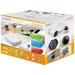 Technaxx Mini Security Kit PRO HD 1080P TX-51 TECHNAXX 4564