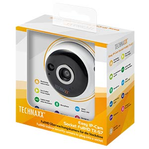Technaxx Easy IP-Kamera FullHD Steckdose TECHNAXX 4577