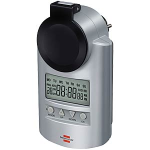 Primera Line weekly timer, DT IP 44 BRENNENSTUHL 1507490