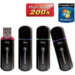USB-Stick, USB 2.0, 16 GB, JetFlash 600 TRANSCEND TS16GJF600